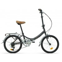 Bicicleta plegable paseo Megamo - 20 Zambra 2020 - Gris