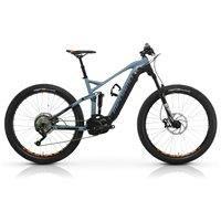 Bicicleta eléctrica de montaña Megamo - Ayron Force 20 2020 - Doble suspensión - 27,5+ - Gris