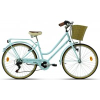 Bicicleta de paseo Megamo - Trivia 2020 - Azul