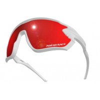 Gafas Power Race Eagle Revo - Blanco/Rojo