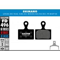 Pastillas de freno Galfer - Shimano carretera y XTR M9100 - Estandard