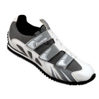Zapatillas de spinning Exustar ESP703 Blanco/Gris