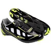 Zapatillas de carretera GES Speed - Negro/Fluor