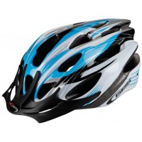 Casco GES Rocket - Azul/Blanco