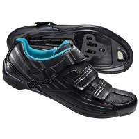 Zapatillas de carretera SHIMANO RP300W - Negro / Mujer