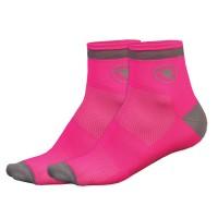 Calcetines Endura Luminite - Rosa Fluor / Mujer