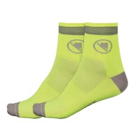 Calcetines Endura Luminite - Amarillo Fluor