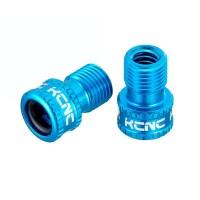 Adaptador de valvula Presta a Schrada KCNC Mini