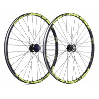 "Rueda Trasera Progress XCD-CB PLUS / 27.5"" 2016 - Amarillo Fluor"